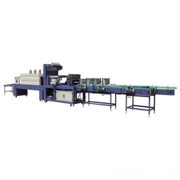Film Packing and Tray Wrapping Machine for Bottles