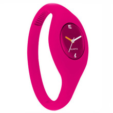 hot sale silicone bracelet ion watch