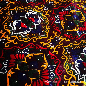 Middle East Style Polyester Warp Velvet Fabric Wholesale