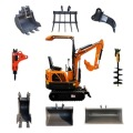 EPA tier 4 mini excavator with Yanmar engine