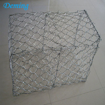 Galvanized hexagonal woven gabion box price