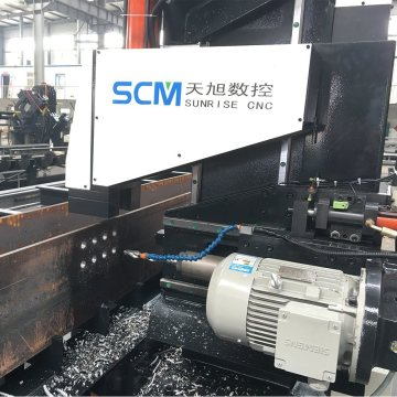 One Spindle Beams Hole Drilling CNC Machine