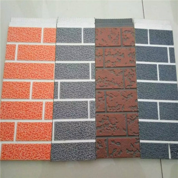 Fireproof insulation decoration pu metal sandwich panel