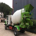 Self-feeding Portable concrete Mixer