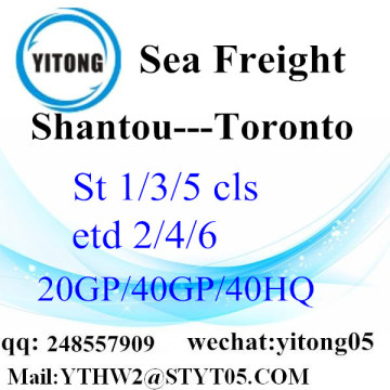 Trucking Service From Shantou to Toronto