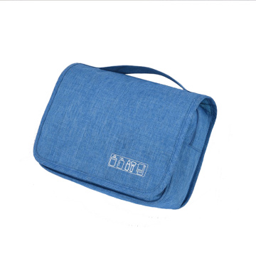 Factory Direct Sale OEM Custom Logo Plain Hanging Travel Toiletry Bag