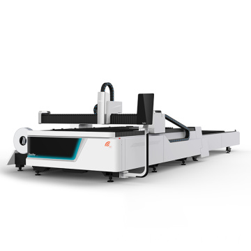 Fiber laser cutting machine with two exchange platform