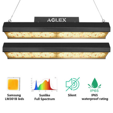 Vertical farm plant grow light strips indoor plants