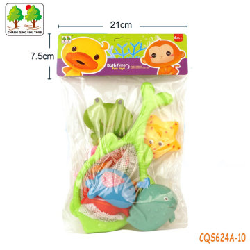 CQS624A-10 CQS soft toys 6PCS and fishing net