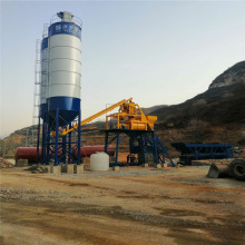 Mini HZS50 Automatic Concrete Batching Plant Ready