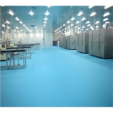 Factory building ESD epoxy floors