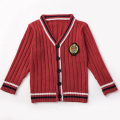 Knitted Uniform Cardigan Boys and Girls School Sweater