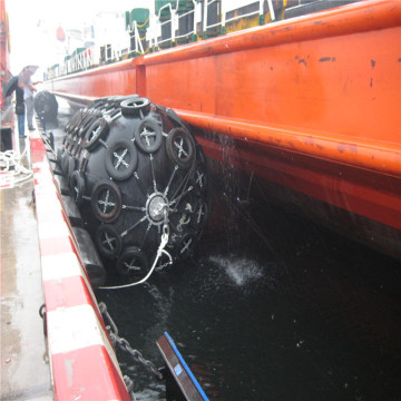 Floating Yokohama Rubber Pneumatic Fenders Passed ISO 17357