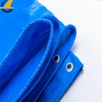 Custom Blue Plastic Poly Tarps