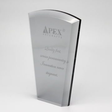 Apex Luxury design custom acrylic trophy for competition