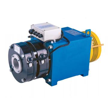 Gearless Elevator Traction Machine With Ø210 Pitch , 630kg Rated Capacity WYJ140