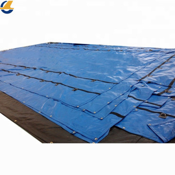 Repairing vinyl tarps for house