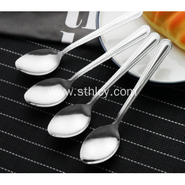 304 Quality Stainless Steel Primary Color Small Spoon