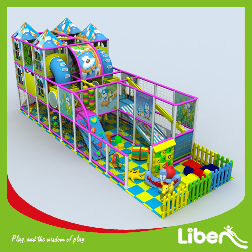 Indoor amusement playground for toddlers baby kids