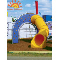 Outdoor Playground System With Tube Slide For Sale
