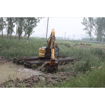 Durable strong and not easily damaged Amphibious Excavator
