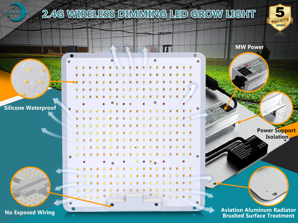 Wireless Remote Control Grow Light 200W Suppliers