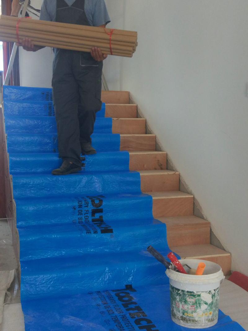 Blue Floor Protection