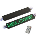 12V programmable car LED display advertising scrolling message vehicle taxi LED window sign remote control with sucking disk