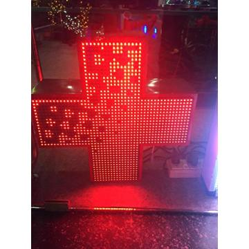 P10 Single Red Cross LED Display