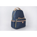 Multifunction Casual Leather Travel Bag Nylon Backpack