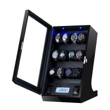 six rotors watch winder with two extra storages