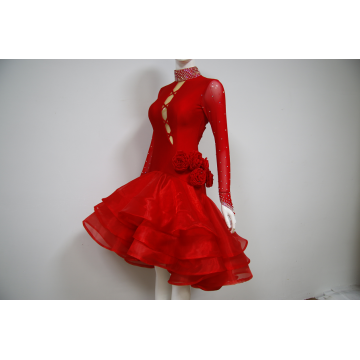 Women costume for ballroom dancing