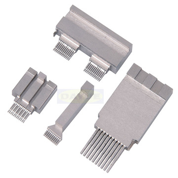 Multi-Pin Connectors mold parts - Insert molding