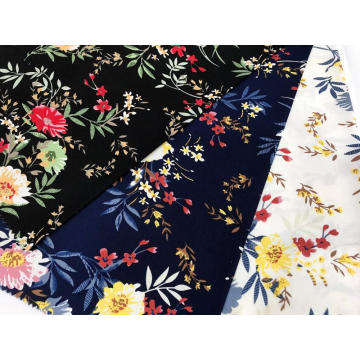 High Spendex  Printed Fabric For Dress