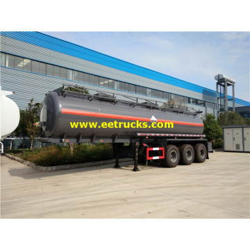 25m3 H2SO4 Transport Tank Semi-trailers