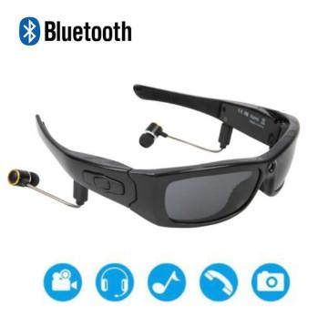 Smart Glasses Sports Camera HD1080P Camera Bluetooth Music Sunglasses Driving recorder Mini Camcorders Glasses Multifunctional