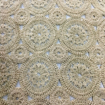 New Technology Cotton Chemical Lace Embroidery Fabric