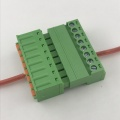 3.81mm pitch 8 pin spring terminal block