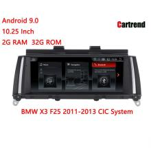BMW X3 F25 Android 9.0 탐색 라디오