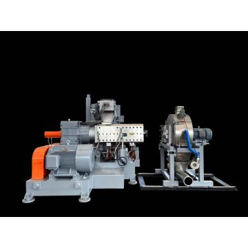 Parallel Twin Screw Extruder Plastic Recycling Granulator