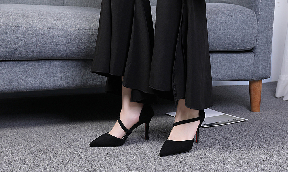 Pointed Toe Rubber Shoes