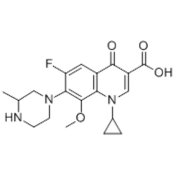 1-Cyclopropyl-6-fluoro-1,4-dihydro-8-methoxy-7-(3-methyl-1-piperazinyl)-4-oxo-3-quinolinecarboxylic acid CAS 112811-59-3