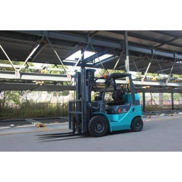 2.0 Ton Cushion Tire Forklift With Quadruple Mast