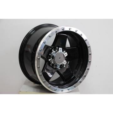 After market 5spoke Milled Rivets alloy wheel