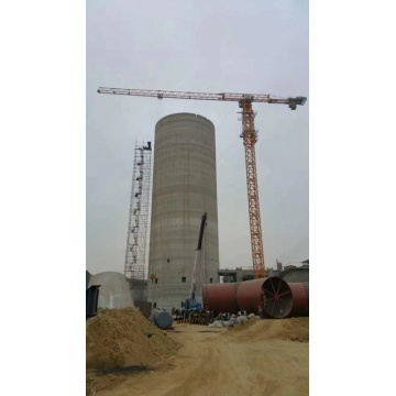 self supporting static tower crane