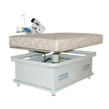 Foam cutting machine for edge sealing of mattress