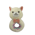 Alpaca With Rattle For Baby