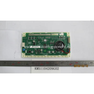 KONE Lift LCD Display Board KM51104209G02