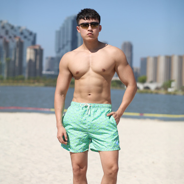 110GSM Quick Dry Water Repellent Man′s Swimming Shorts