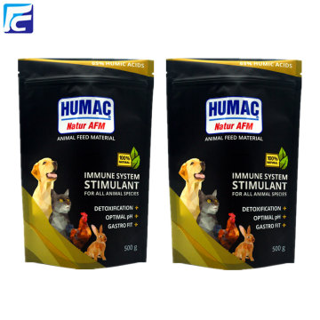 Customized stand up Pet food packaging bag